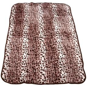 WinterDreams Kuscheldecke Leopard, 150 x 200 cm