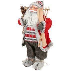 Weihnachtsmann grau 60 cm