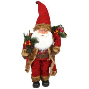 Weihnachtsmann weinrot 60 cm