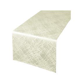 Tischläufer fleckabweisend, creme, 40 x 140 cm