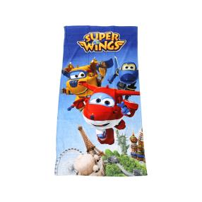 Badelaken Super Wings, 75 x 150 cm