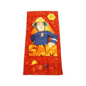 Badelaken Feuerwehrmann Sam, 75 x 150 cm