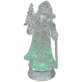 LED Glitzer-Weihnachtsmann, 26 cm