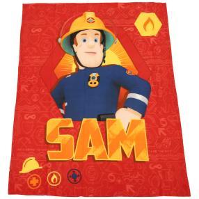 Feuerwehrmann Sam Fleecedecke, 130 x 160 cm