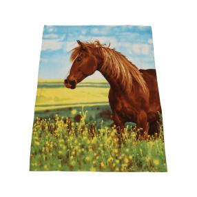 Fleecedecke Pferd, 130 x 160 cm