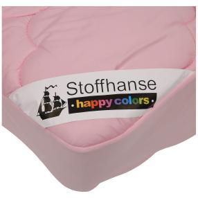 Stoffhanse Unterbett, rosé, 100 x 200 cm, 2er-Set