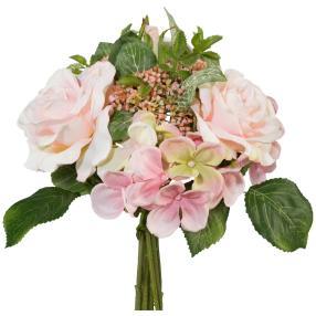 Rosenstrauß, rosa