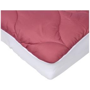 Stoffhanse Unterbett, rosé, 100 x 200 cm, 2er Set