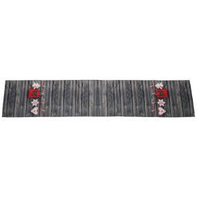 Tischläufer Weihnachten Holzoptik, 25 x 140 cm