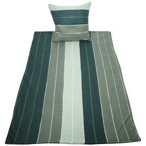 WinterDreams Bettwäsche, grau Streifen, 2-teilig