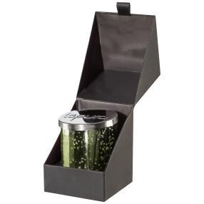 LEPURO Duftkerze, Lemongrass, Effektglas