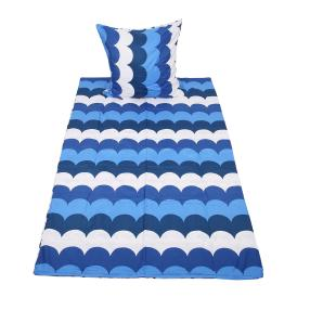 AllSeasons Bettwäsche, blaue Wellen, 2-teilig