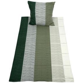WinterDreams Bettwäsche grün-weiß, 2-teilig