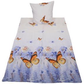 AllSeasons Bettwäsche, Schmetterling, 2-teilig