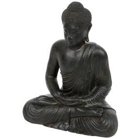 Darimana Meditationsbuddha Sandguss, 60 cm