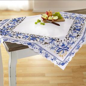 Mitteldecke Blaue Pracht, 85 x 85 cm