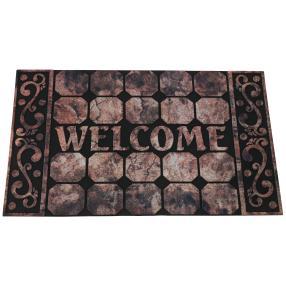 """Fußmatte """"Welcome"""" beige-braun, 75 x 45 cm"""