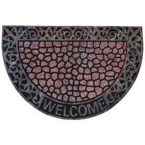 Fußmatte Welcome Steinoptik, 60 x 40 cm