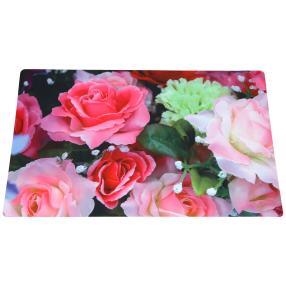 Fußmatte Rosenzauber bunt, 74 x 44 cm