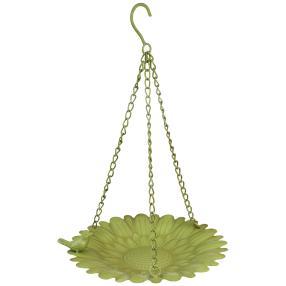 Blütenschale zum Hängen, Ø 29 x 43 cm, grün