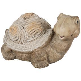 Schildkröte grau aus Magnesia, 50 x 31 x 28 cm