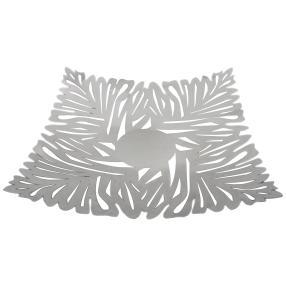 Metallschale Blatt, 29 x 29 x 6 cm