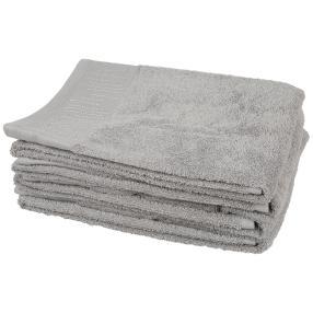 Luxus Handtuch, Glitzersteinchen, grau, 4er-Set