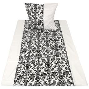 AllSeasons Bettwäsche, schwarz-weiß, 2-teilig
