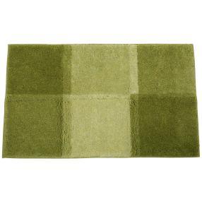 GRUND Badteppich, grün kariert, 60 x 100 cm