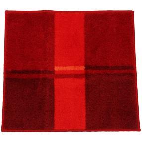 GRUND Badteppich, rote Streifen, 55 x 60 cm