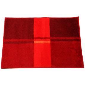 GRUND Badteppich, rote Streifen, 60 x 90 cm