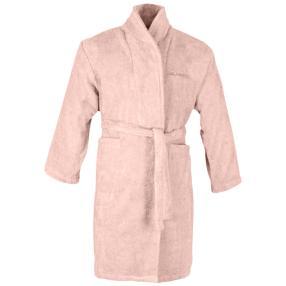 KARL LAGERFELD Bademantel rosa aus Baumwolle