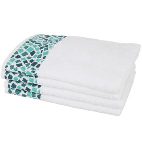 Handtuch, weiß, 50 x 100 cm, 4er-Set