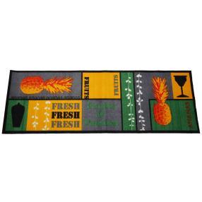 Cardea Fußmatte, gelb-grün, 50 x 150 cm