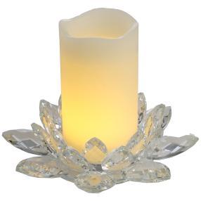 LED-Kerzenset weiß