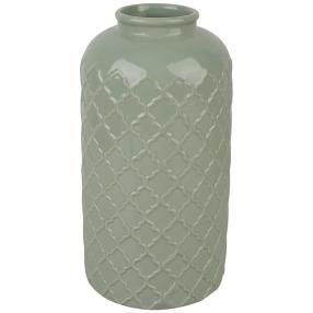Keramikvase XXL, mint, 30 cm