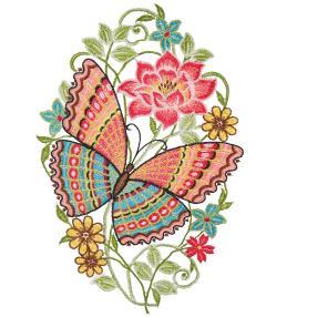"""Fensterbild """"Schmetterling"""""""