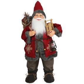 Weihnachtsmann Oran, rot, 80 cm