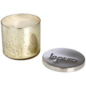 LEPURO 2-Docht-Duftkerze, Bergamotte