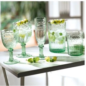 Weißweinglas-Set, 6-tlg. Grün