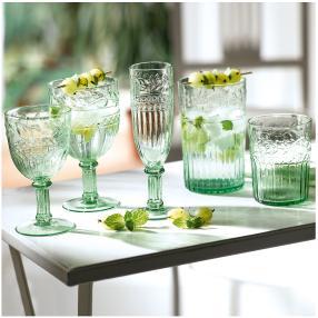 Longdrinkglas-Set, 6-tlg. Longdrink Grün