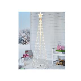 LED-Lichterbaum Schneefall Weiß