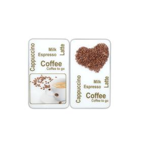 WENKO Herdabdeckplatte Universal Kaffeegenuss