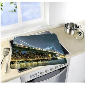 WENKO Motivplatte Brooklyn Bridge