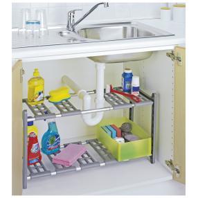 WENKO Küchen-Unterschrankregal Flexi