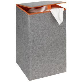 WENKO Wäschesammler Uno Filz Orange