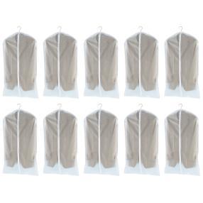 WENKO Kleidersack Transparent 100x60 cm, 10er Set