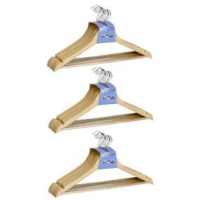 WENKO Formbügel Eco, 24er Set, Kleiderbügel