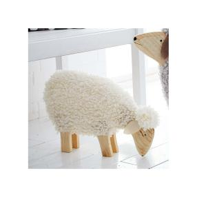 Deko-Schaf Nanni Weiß