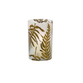 Windlicht Palmenblatt